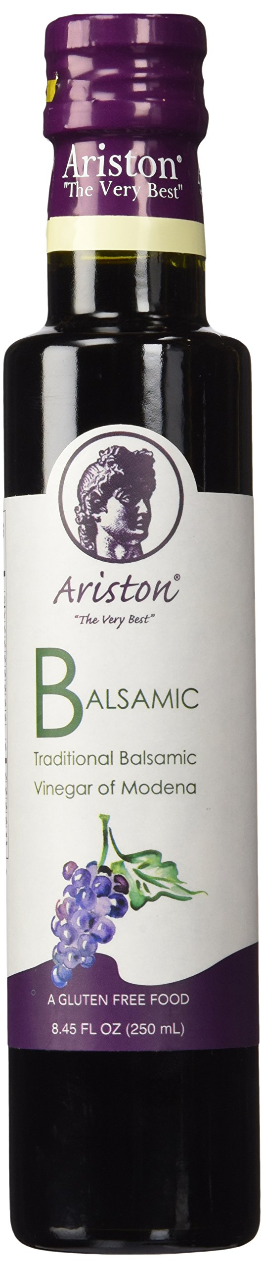 Ariston Traditional Modena Balsamic Vinegar 12 Years Aged (8.45 Oz - 250ml)(product of Italy)