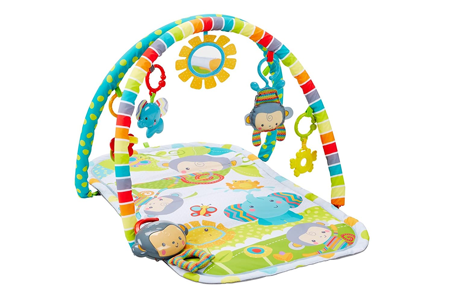 Fisher-Price Musical Play Gym, SnugaMonkey Fisher-Price Baby CLJ42