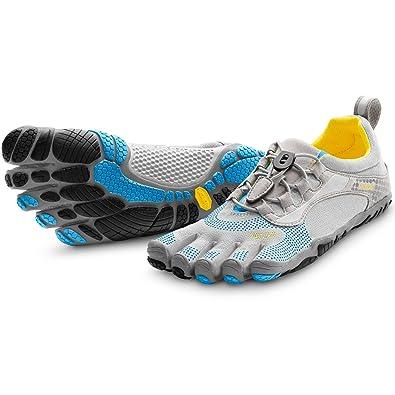 4a34284f28 Vibram FiveFingers Bikila LS Grau/Blau/Schwarz Damen Training Fitness Schuhe  Gr. 38