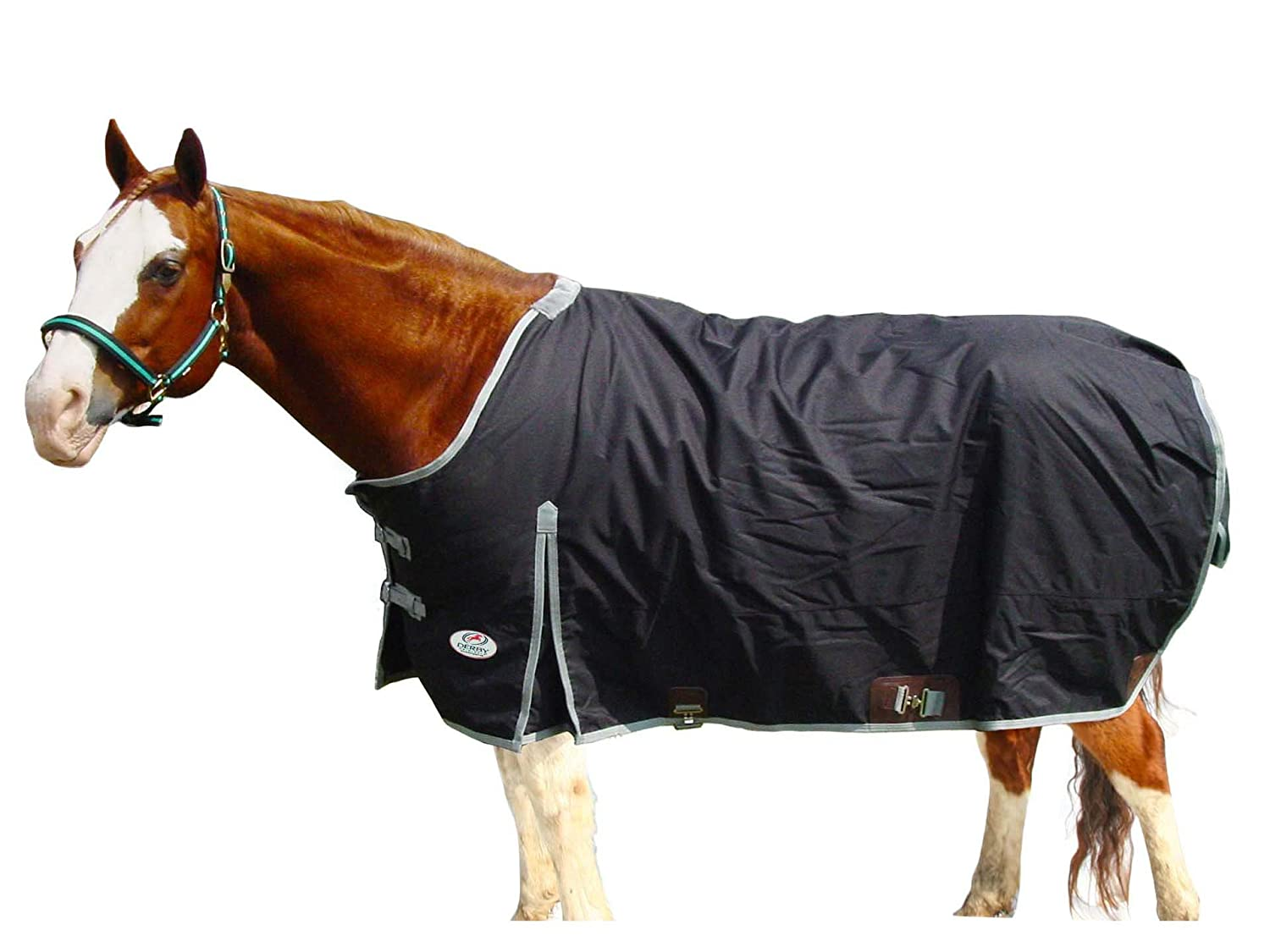 Black 78\ Black 78\ Derby Originals Ripstop Nylon Waterproof Heavyweight West Style Winter Horse Turnout Blanket