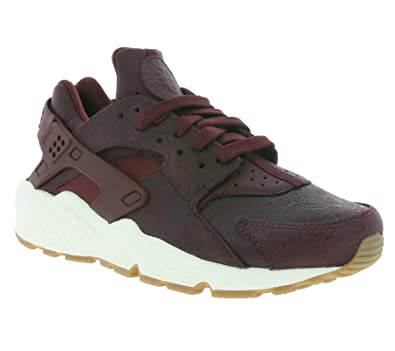 low cost 1217f 984a5 Nike Air Huarache Premium Women s Shoes Night Maroon Night Maroon-Sail  683818-600