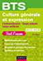 BTS Culture générale et Expression 2017/2018 (BTS Tertiaire)