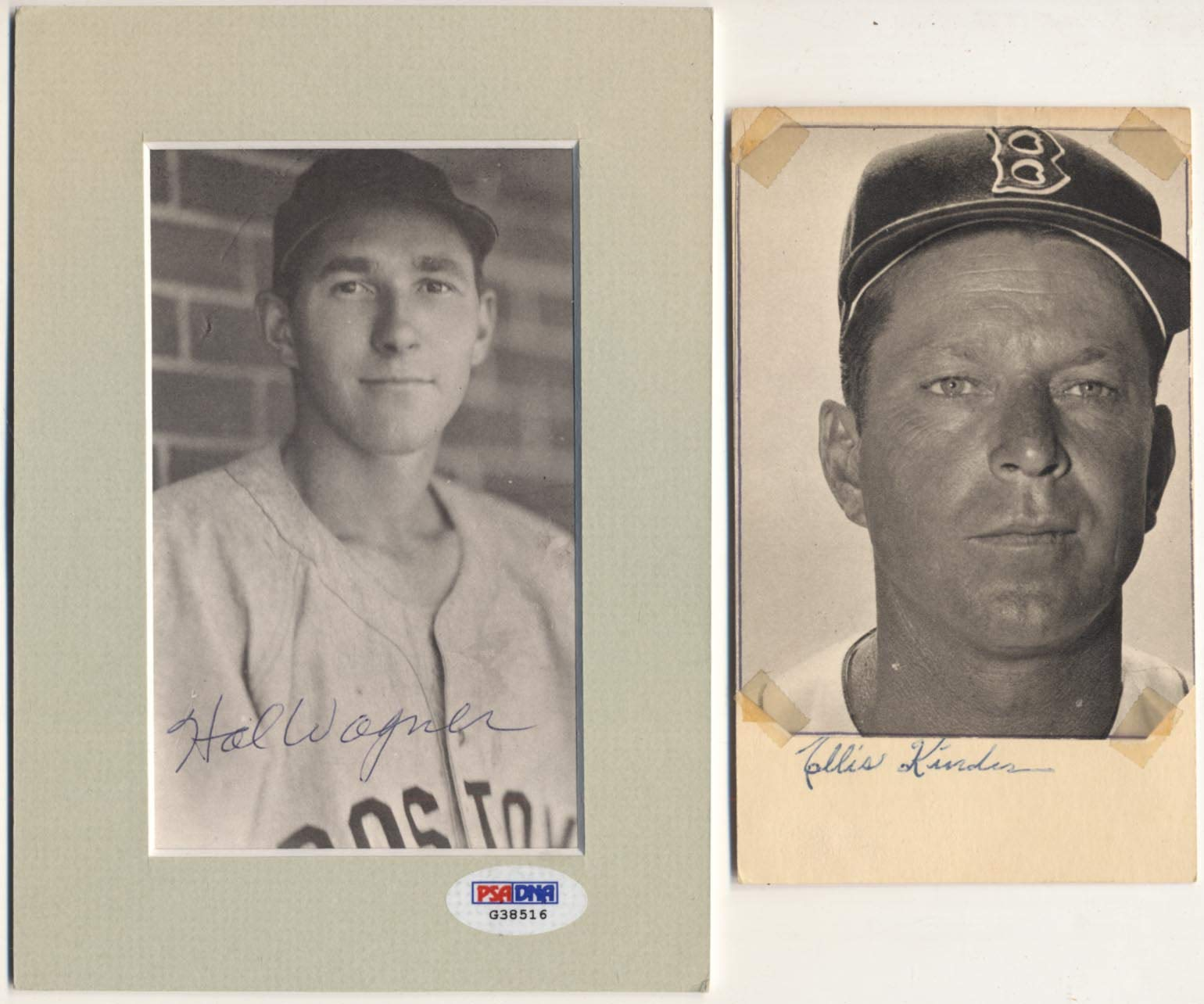 3 x 5 Collection of 176 different 1930 1950 Boston Red Sox Autographs 9