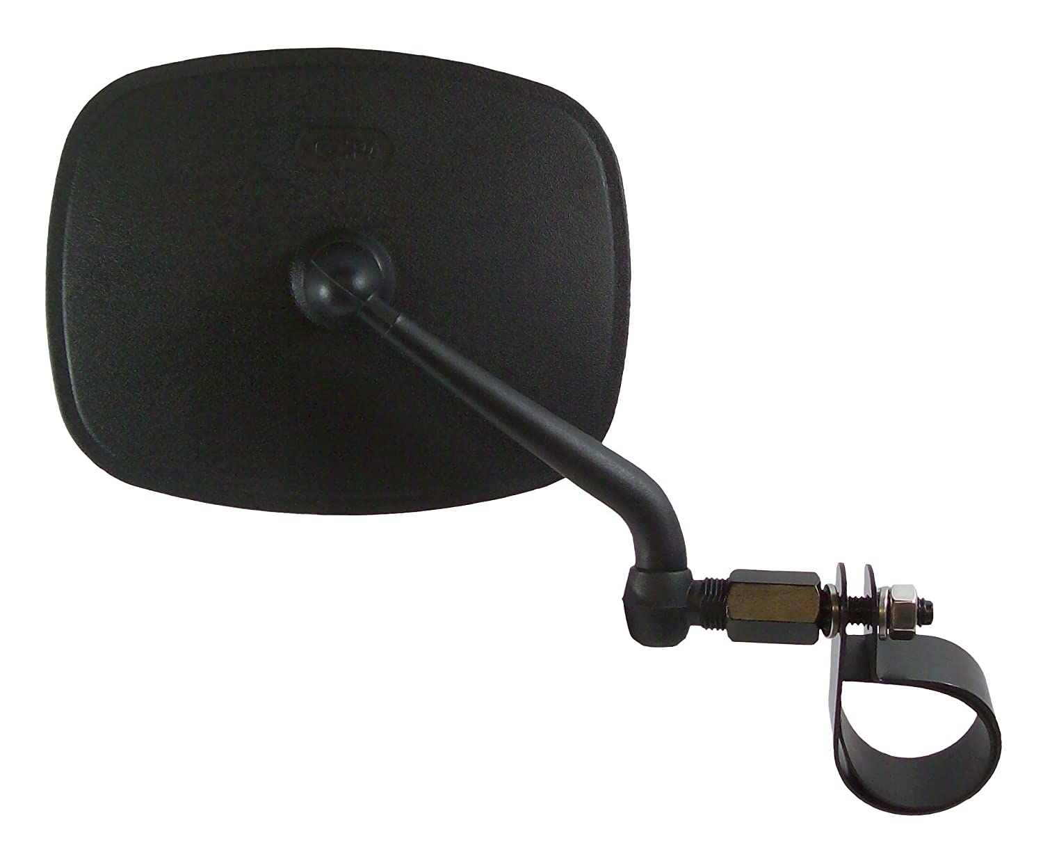 CIPA M37 UTV Side View Mirror fits Rollcage diameters from 1-3//4 to 2 Driver Side Black