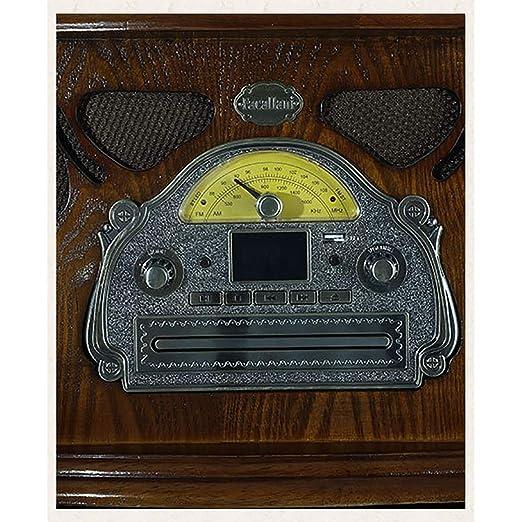 RAPLANC Reproductor de Discos de Vinilo Retro Big Horn Record, el ...