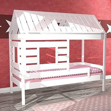Spielbett Mädchen marken hochbett kiefer massiv kinderbett spielbett einzelbett