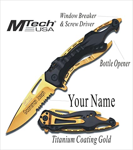 Amazon Com Personalized Knives Engraved Rescue Custom Hunting