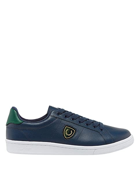 Fred Perry - Zapatos Hombre FRED PERRY B5179 266 Shields Badge - Azul carbón, 41