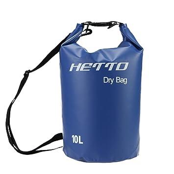 RUNATURE 10L 20L Dry Bag, Bolsa Impermeable Mochila Acuática Mochila Seca Bolsas Estancas para Kayak Canoa Vela Pesca Natación Playa Esquí Navegación ...