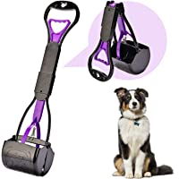 Yeuca Pooper Scooper for Large & Medium, Small Dogs, Long Handle Foldable, Sturdy and Durable Great for Gravel, Grass…