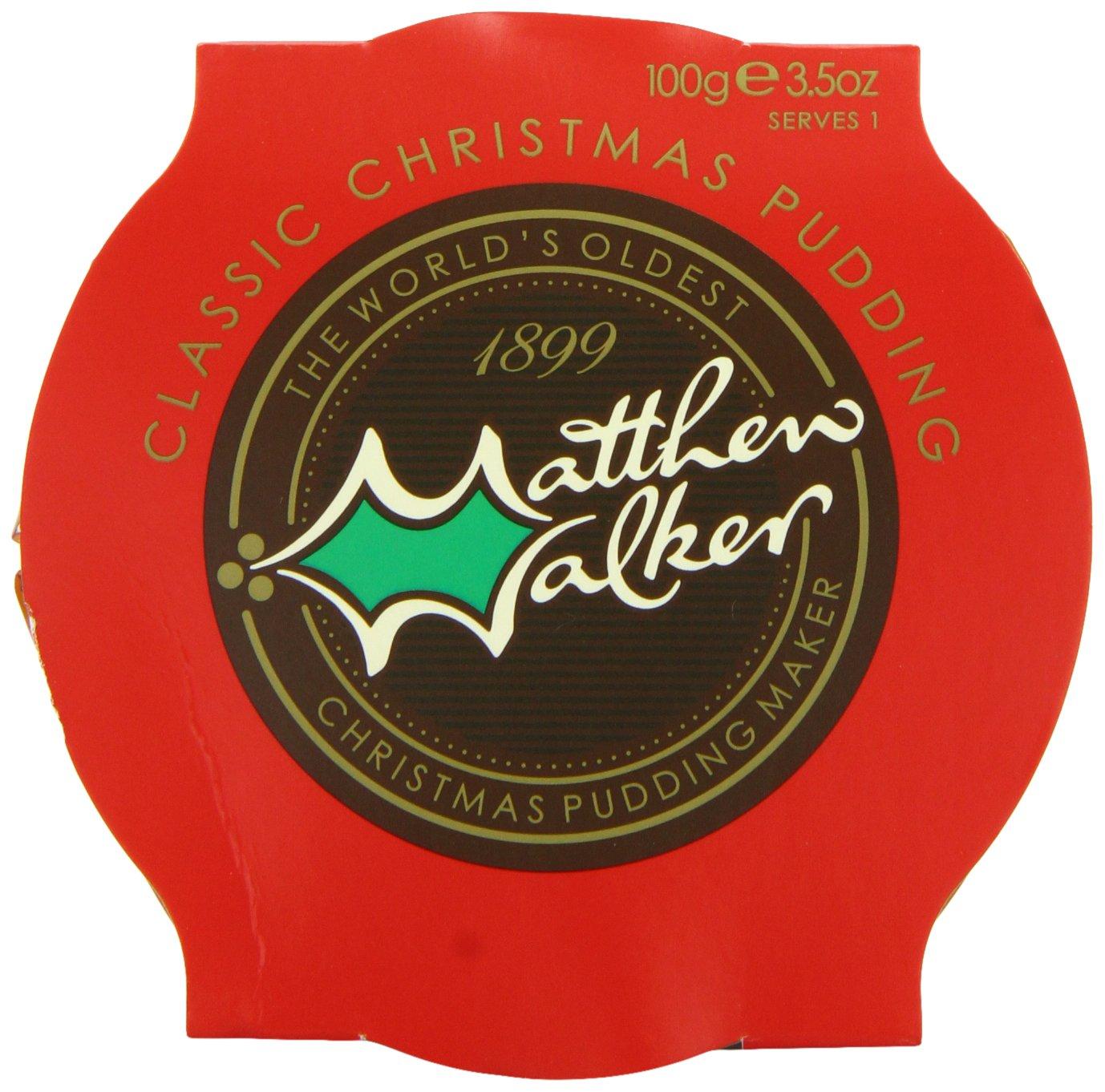 Matthew Walker Classic Christmas Pudding 100 G (Pack Of 40)
