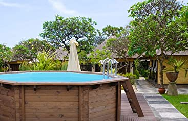 Interline 50700213 Bali a y 96188 Pool Set 3 Madera pared Piscina ...