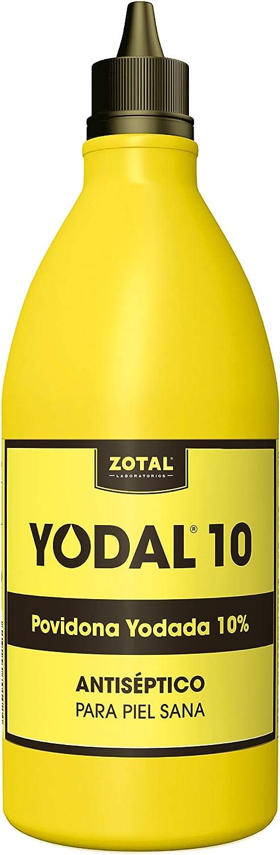 Yodal 1LITRO (Povidona yodada), Negro, 1000 ml, 1000