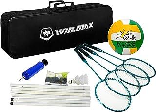 Win.max Ensemble Combo de Volleyball de Badminton