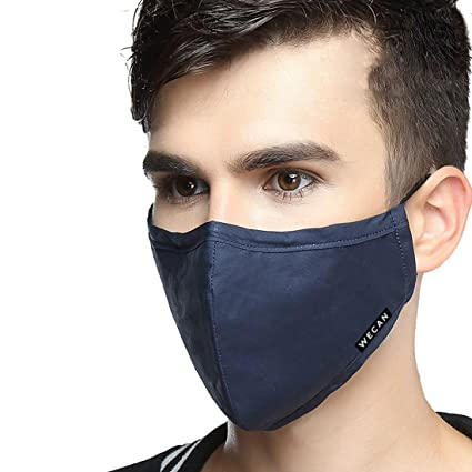 yuena cuidado cara boca máscara anti polvo cubierta de 4 Capa almohadilla de filtro de carbón