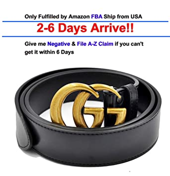 52b888a9c Luxury Designer GG Slim Belt for Women Or Men Unisex [3.8CM width ...