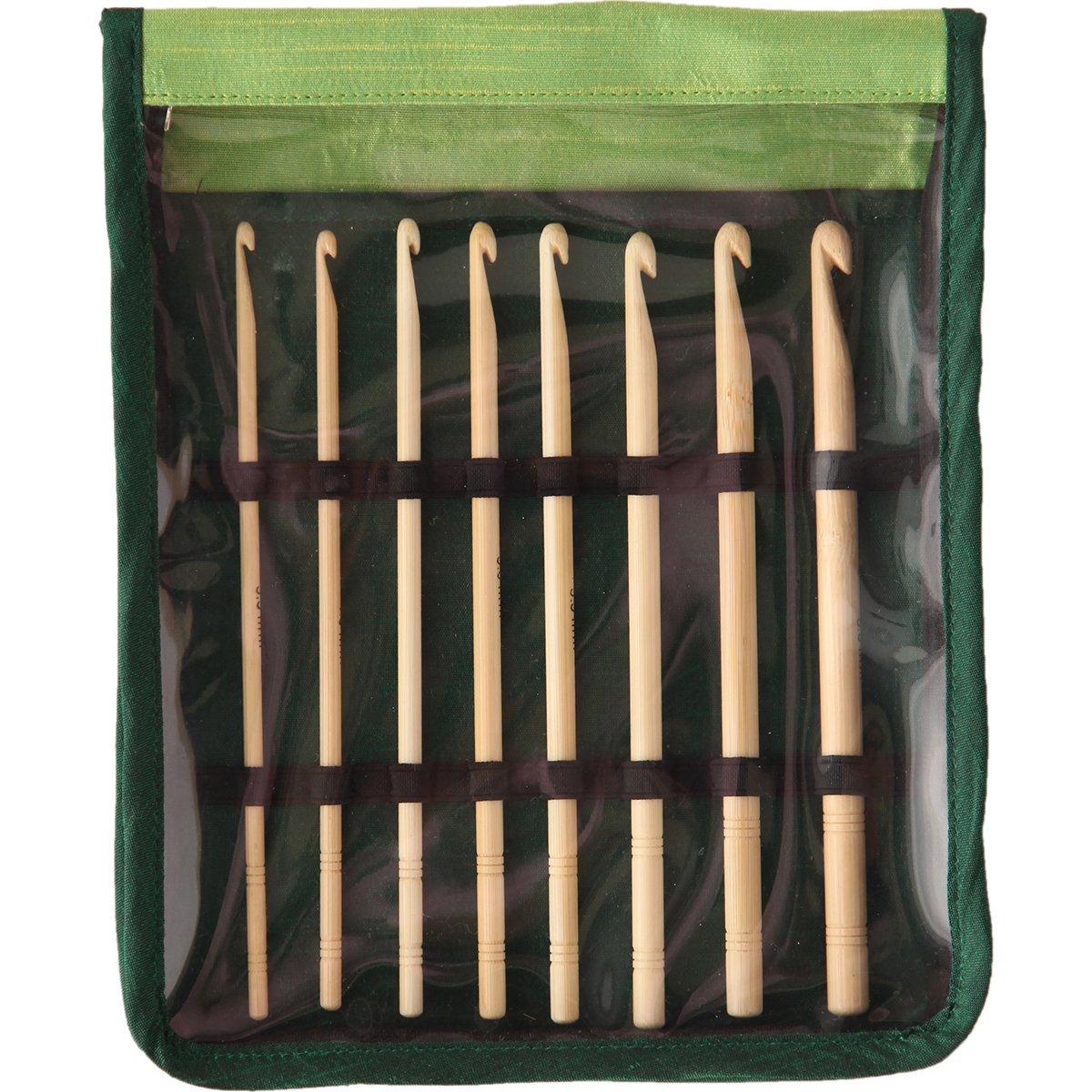 Knitter's Pride KP900585 Bamboo Single Ended Crochet Hook Set