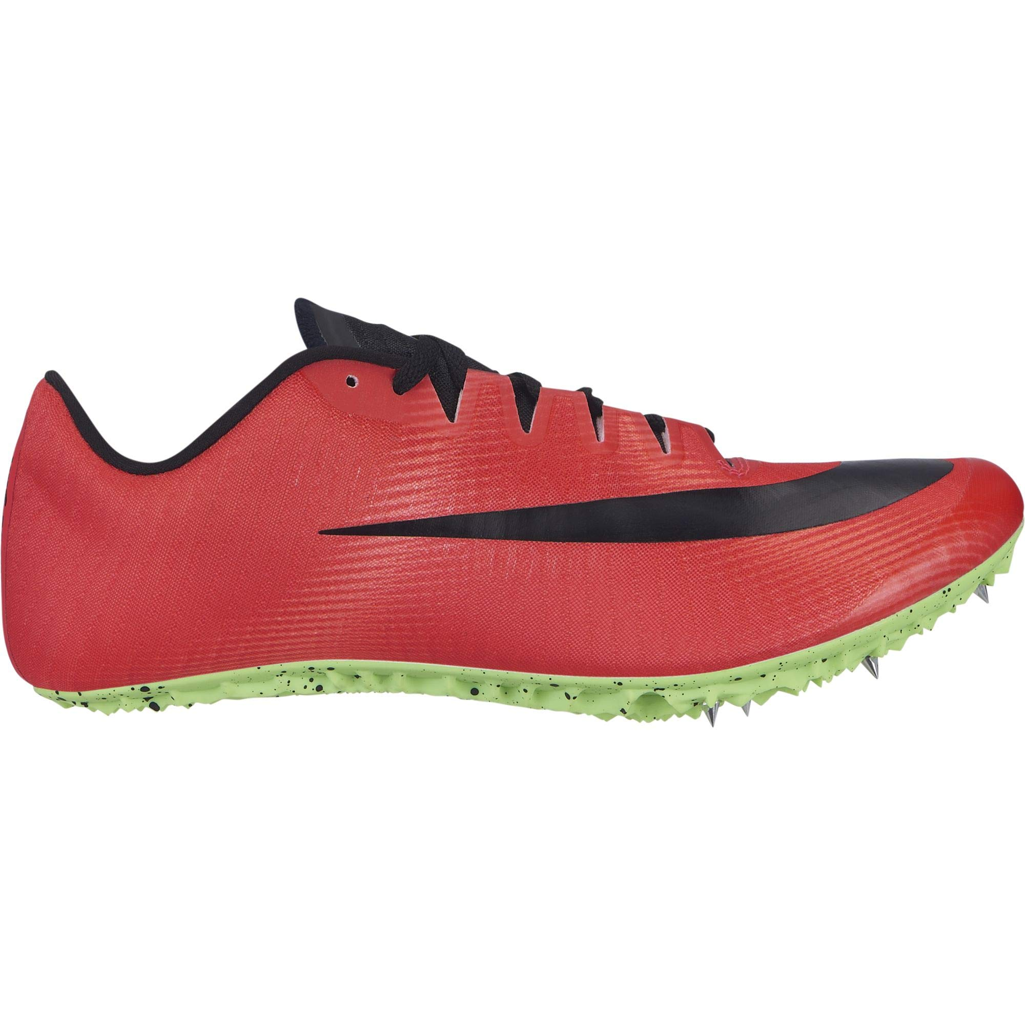 Nike Men's Zoom Ja Fly 3 Track Spike Red Orbit/Black/Flash Crimson/Lime Blast Size 9 M US