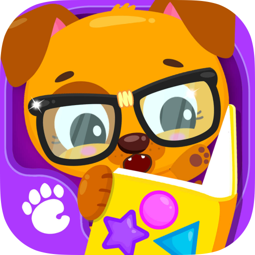 (Cute & Tiny Shapes - Kids Learn Colors & Geometry with Baby Pets)