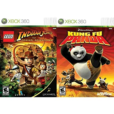 Lego Indiana Jones: The Original Adventures / Kung Fu Panda (Renewed): Video Games