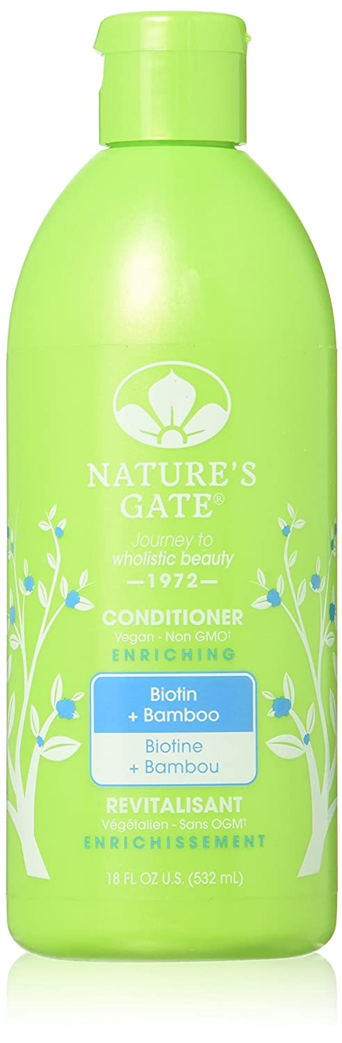 Nature's Gate Biotin Biotin + Bamboo Enriching Conditioner - 18 fl oz