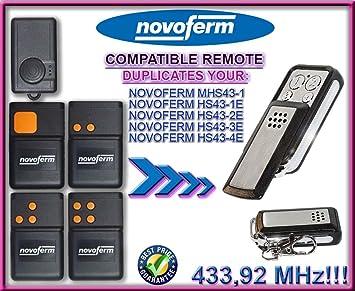 NOVOFERM NOVOTRON MHS 43-1/HS 43-1E HS 43-2E HS 43-3E