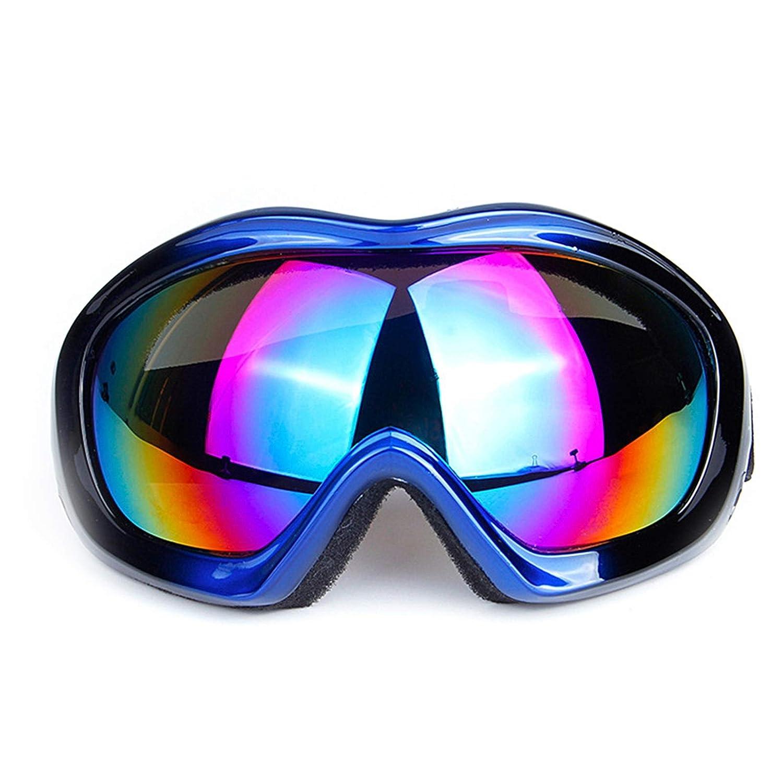 Lafeil Sportsonnenbrille Herren Damen Herren Erwachsene Skibrille Männer Und Frauen Einschichtige Brille Sanddicht Motorrad Brille Wandern Skibrille