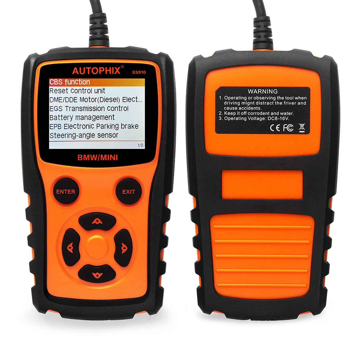 AUTOPHIX ES910: Airbag ABS EPB OBD2 Scan Tool for BMW Review - OBD