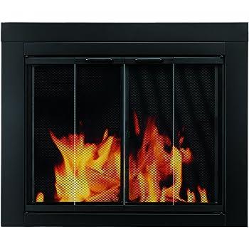 Amazon Temco Bi Fold Glass Fireplace Door Easy To Install