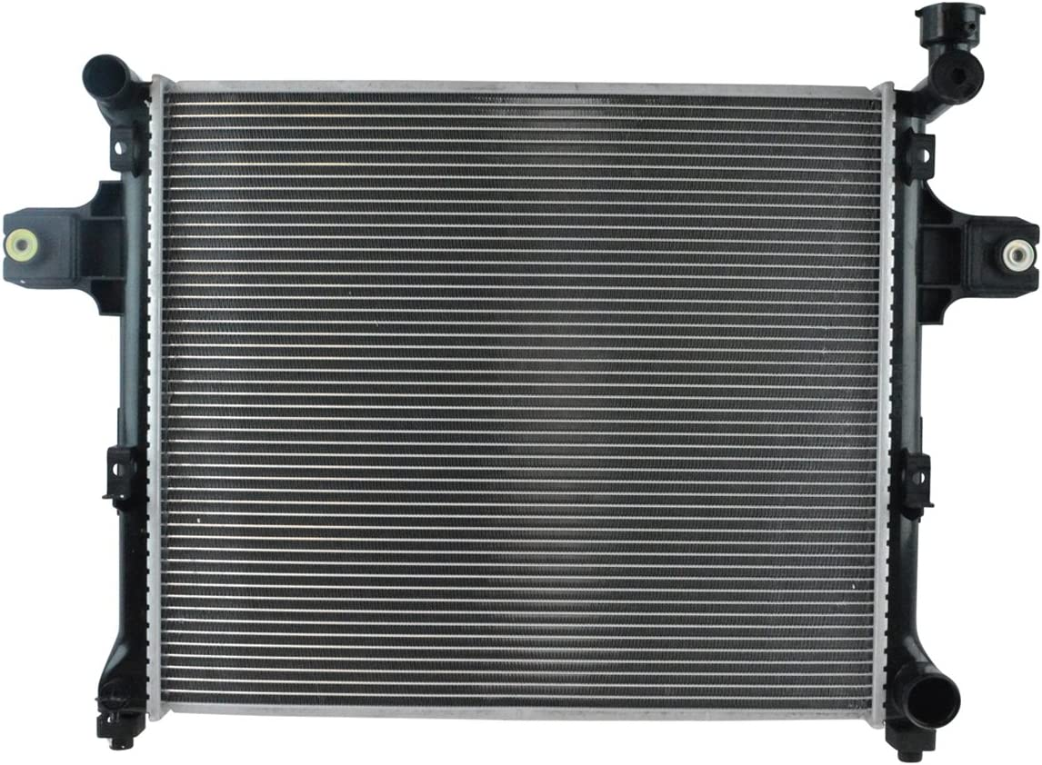 Radiator Assembly Aluminum Core Direct Fit for Jeep Commander Grand Cherokee