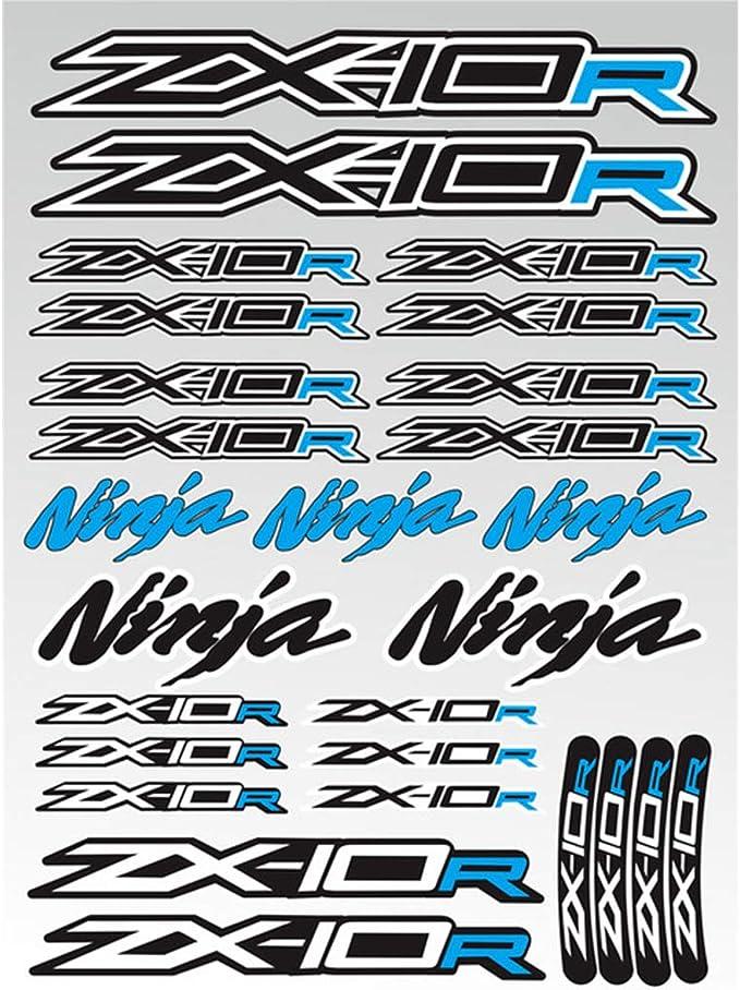 Moto Adesivi Riflettenti Decorativi Adesivi per Serbatoio Carburante per ZX-3R