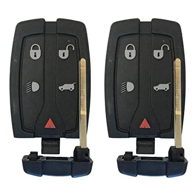 Replacement For 2008-2012 Land Rover LR2 Keyless Entry Smart Remote 5 Btn 315MHz FCCID:NT8TX9,by AUTOKEYMAX (PAIR): Automotive