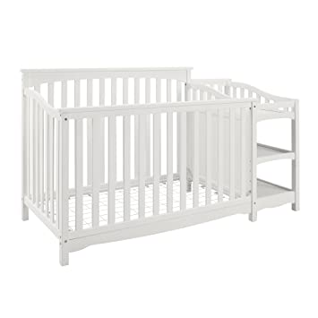 Baby Relax Bailey Convertible Crib with Side Changing Table Set White  sc 1 st  Amazon.com & Amazon.com : Baby Relax Bailey Convertible Crib with Side Changing ...