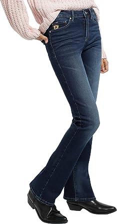 Lois Jeans Pantalones Vaqueros De Nueva Coleccion De Algodon Moda Casual Para Mujer Regalar Regular Fit En Color Azul Tallaje En Pulgadas Talla Inch 33 116636 Amazon Es Ropa Y Accesorios