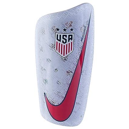 top fashion classic super cute Amazon.com : Nike USA Mercurial Lite Shin Guards (White/Blue ...