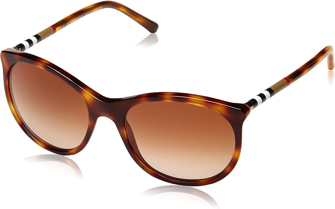 Burberry - Gafas de sol Redondas BE 4145 para mujer, 331613 ...