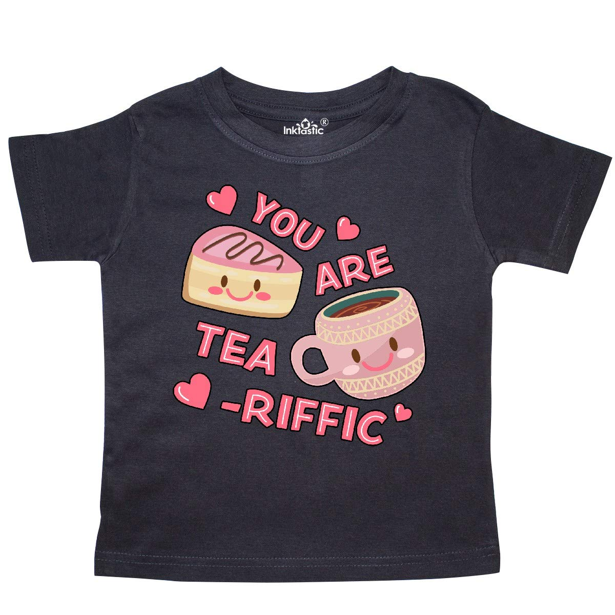 inktastic Valentine You are Tearrific with Cute Tea Cup and Toddler T-Shirt