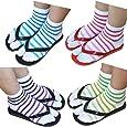 Premium Cotton Toe Socks For Women Stylish Tabi Ankle Socks For Flip Flop Pack of 4