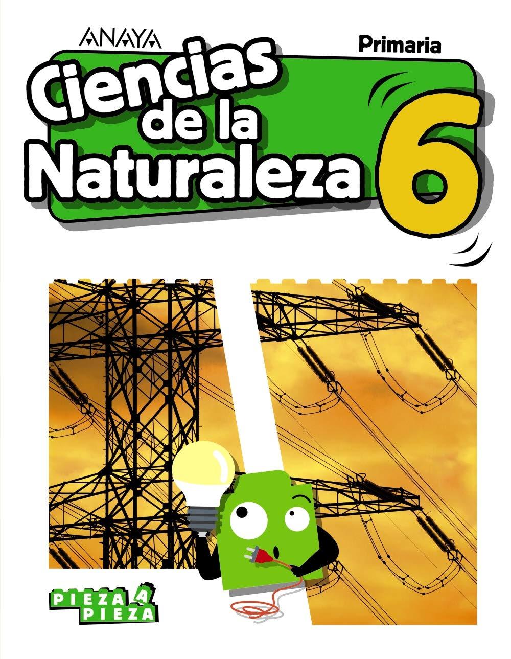 Ciencias De La Naturaleza 6 Pieza A Pieza Amazon Es Gómez Gil Ricardo Valbuena Pradillo Rafael Libros