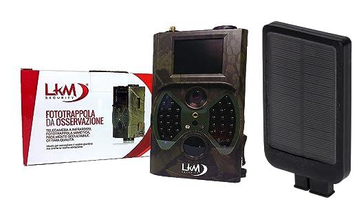 23 opinioni per Telecamera Infrarossi Fototrappola LKM Security® GPRS GSM MMS 12 Megapixel con