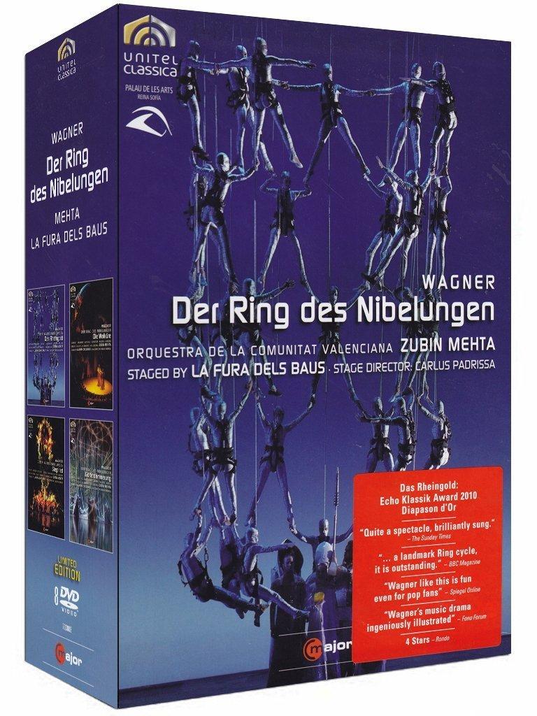 Wagner: Der Ring des Nibelungen Limited Edition 8 DVDs Reino ...