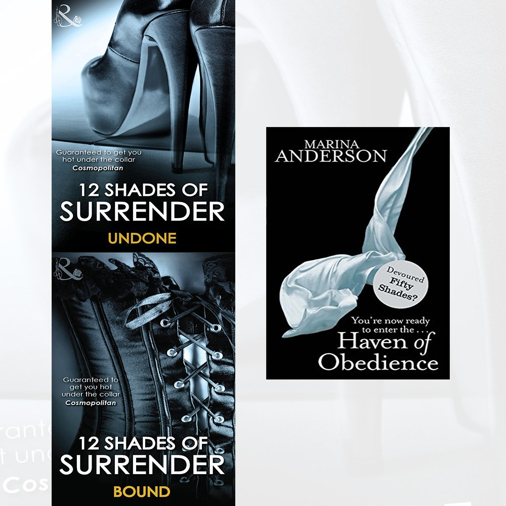 Download 12 Shades of Surrender Undone, Bound and Haven of Obedience 3 Books Collection Set PDF
