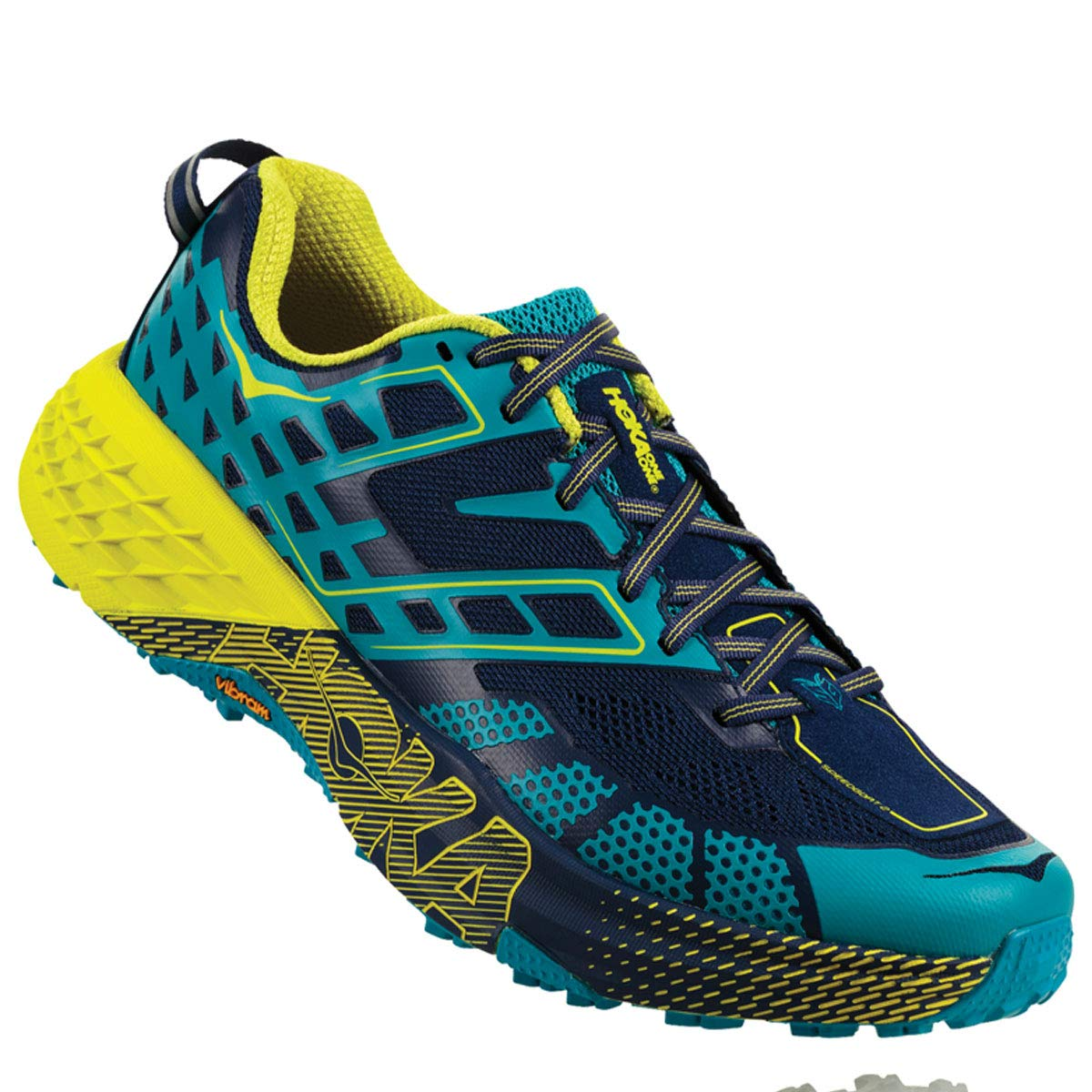 TALLA 12 US. Hoka One One Hombre Speedgoat 2 Textile Synthetic Entrenadores