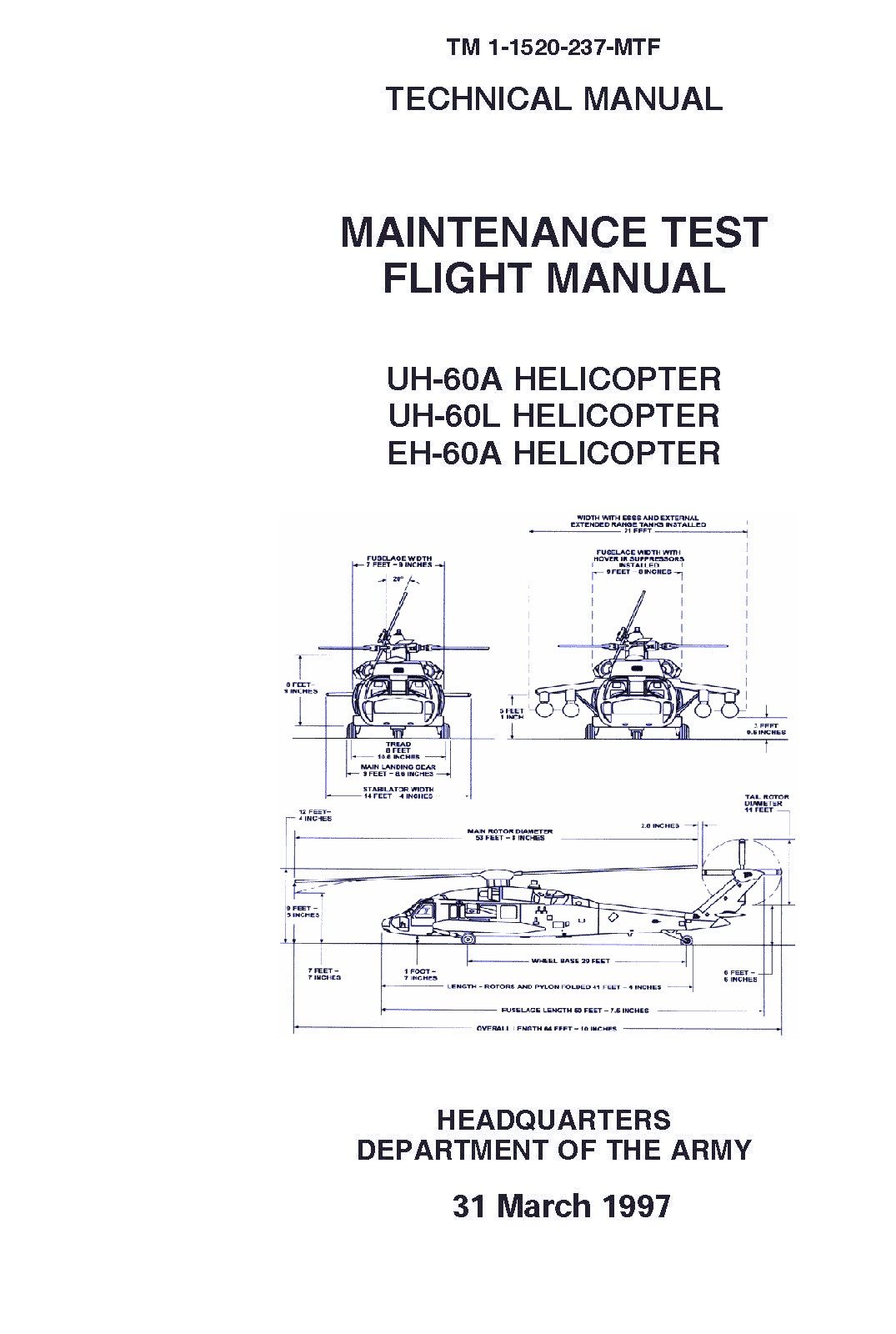 tm 1 1520 237 mtf technical manual maintenance test flight manual uh rh amazon com uh-60 maintenance manual UH-60 Black Hawk Helicopter