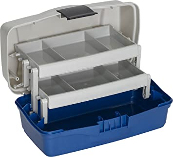 PLASTILYS nbsp;– Caja con 2 bandejas giratorias, 33 cm
