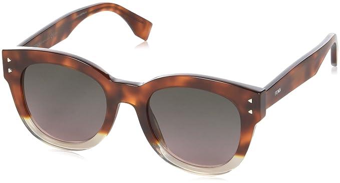 Fendi FF 0239/S M2, Gafas de Sol para Mujer, Rosa (Havana ...