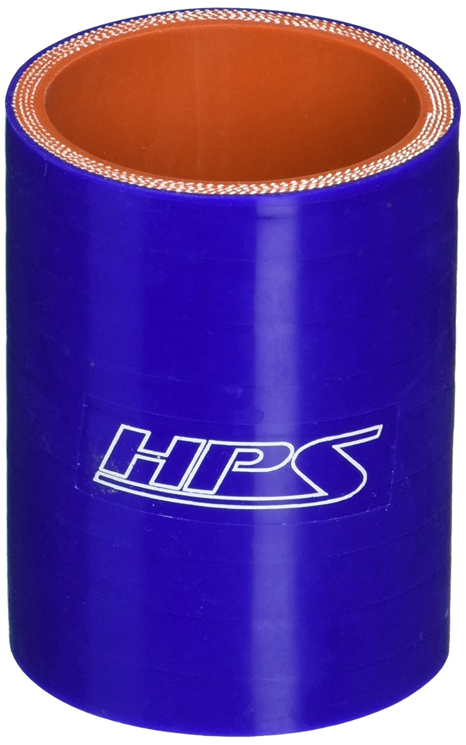 HPS HTSC-187-BLUE Silicone High Temperature 4-ply Reinforced Straight Coupler Hose, 100 PSI Maximum Pressure, 3' Length, 1-7/8' ID, Blue 3 Length 1-7/8 ID HPS Silicone Hoses