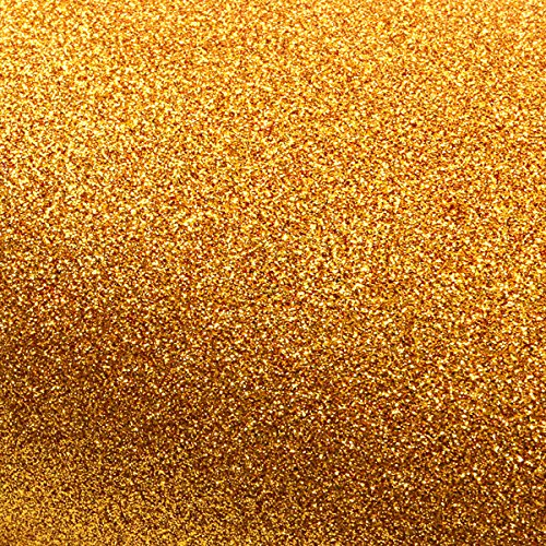 ROSEROSA Peel & Stick Glitter Sand Wall Paper & Crafting Tape Self Adhesive Shelf Liner Table and Door Reform Border Sticker (Gold : 3 inch X 5 Yard) (Sand Borders Wallpaper)