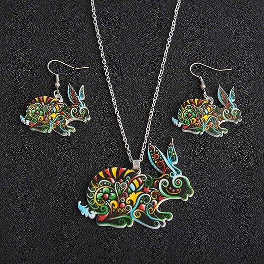 Muzhili3 - Juego de 3 pendientes para mujer, diseño de cebra ...