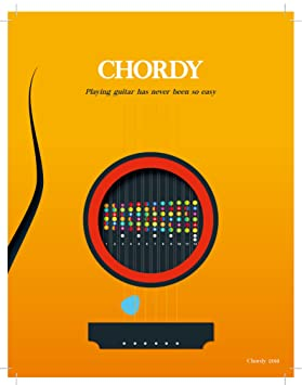 chordy - Color Coded guitarra Trastes pegatinas. Guitar Chord ...